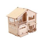 Дом из фанеры - детский конструктор