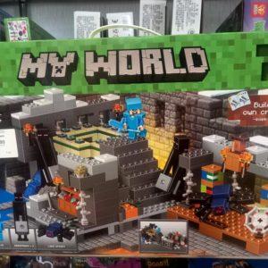 Конструктор My World (аналог лего Майнкрафт)
